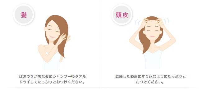 ゲルクリームご利用方法(基本編)